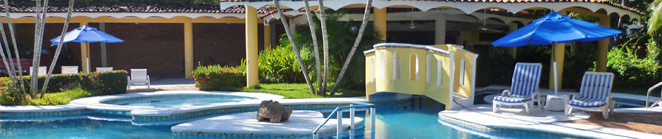 Pool Instalations at Villa Corona del Mar Guayabitos
