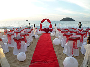 weddings in Guayabitos